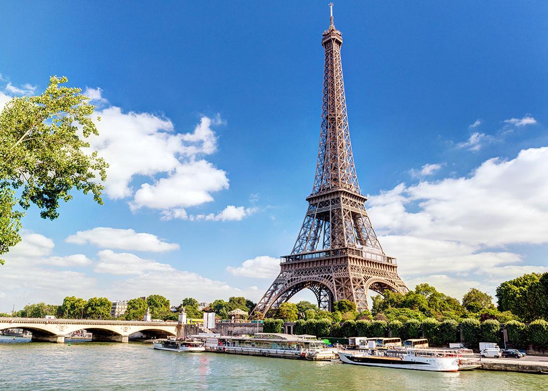 جاذبه های فرانسه