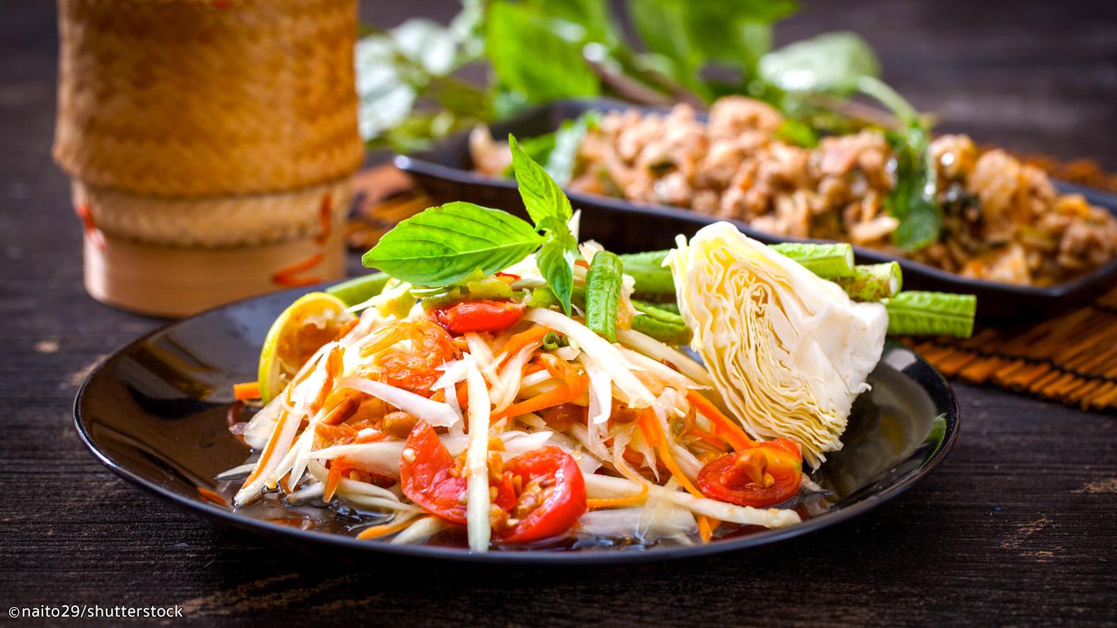 یکی از رستوران های بانکوک