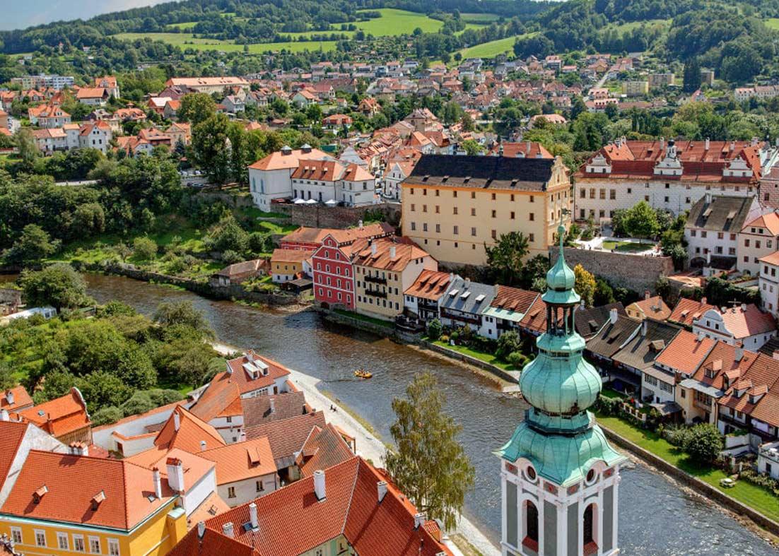 مکان های جذاب جمهوری چک
