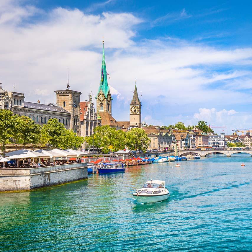 , دریاچه زوریخ – سوئیس