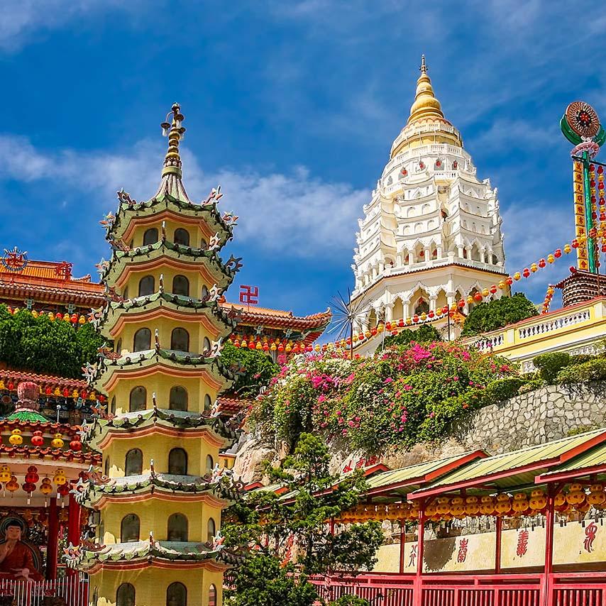 , معبد ککلوکسی – مالزی