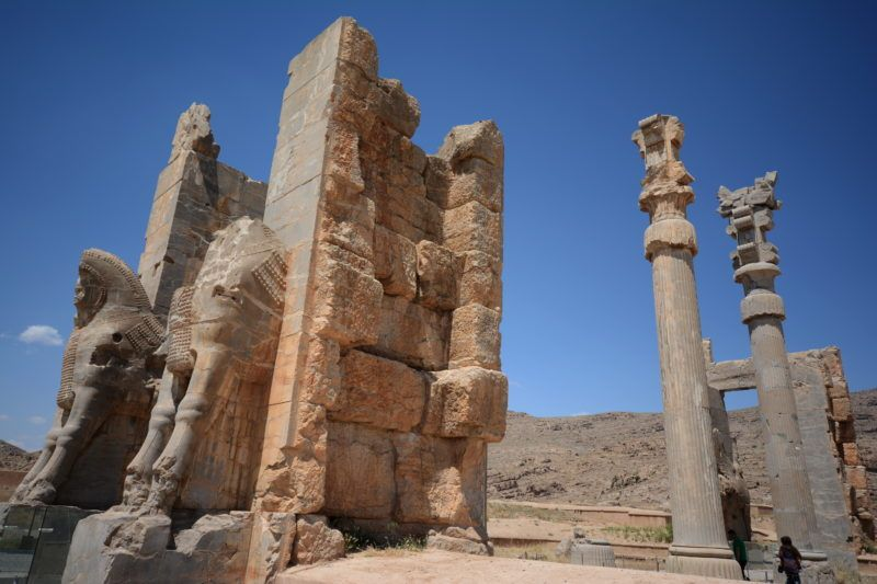 تخت جمشیبد شیراز
