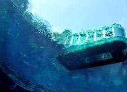 قایق های کف شیشه ای کیش
