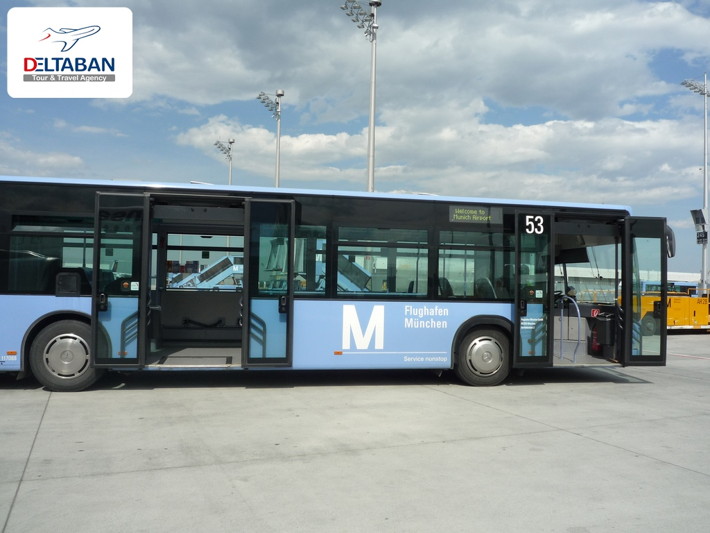 از فرودگاه به مرکز شهر مونیخ