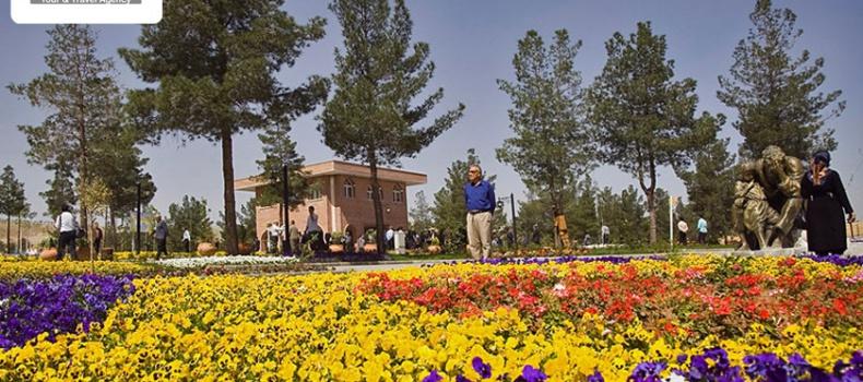 تور باغ گلها کرمانشاه