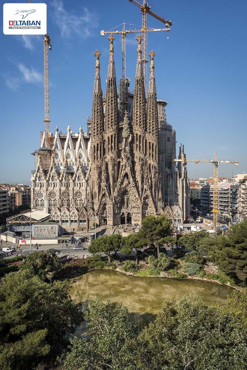 جاذبه های گردشگری بارسلون