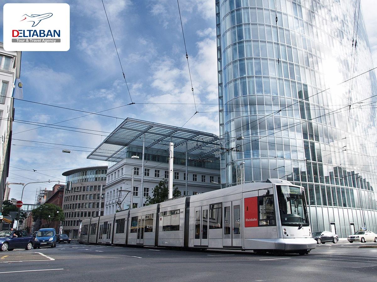 اتوبوس ها در دوسلدورف