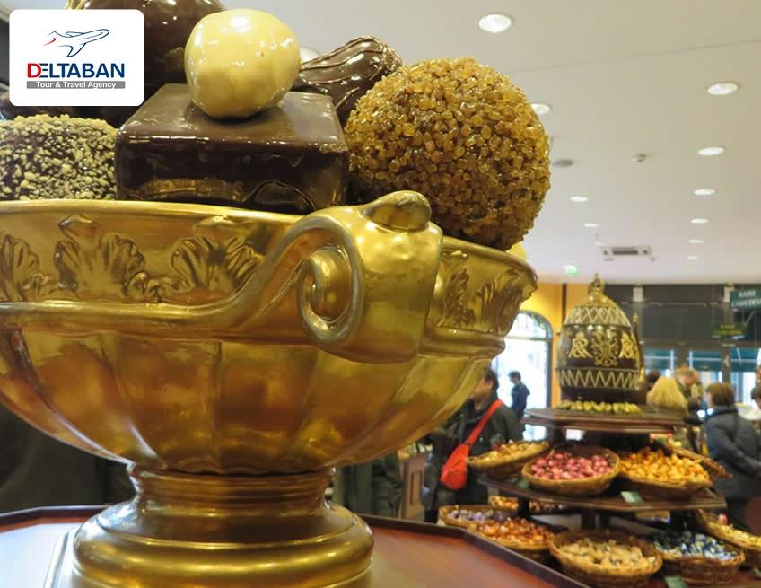 رستوران شکلات های فاسبندر و راوش