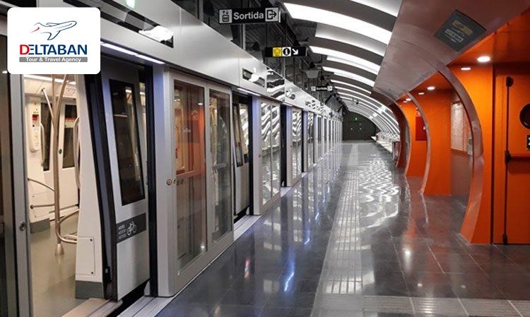 سیستم حمل و نقل عمومی بارسلونا