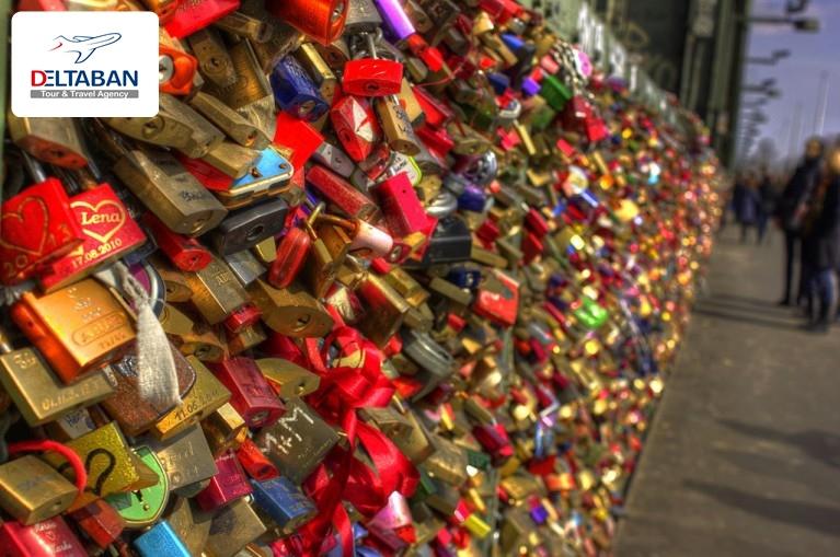قفل های عشق