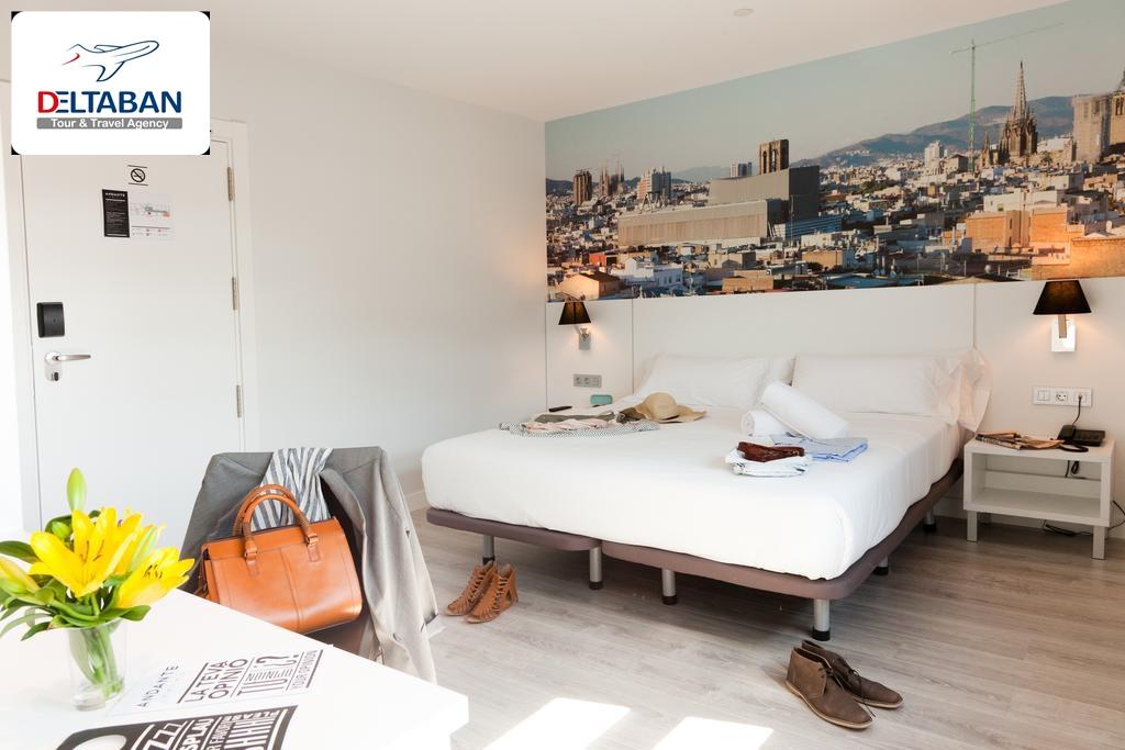 اتاق ها و طراحی هتل Andante Hotel بارسلون
