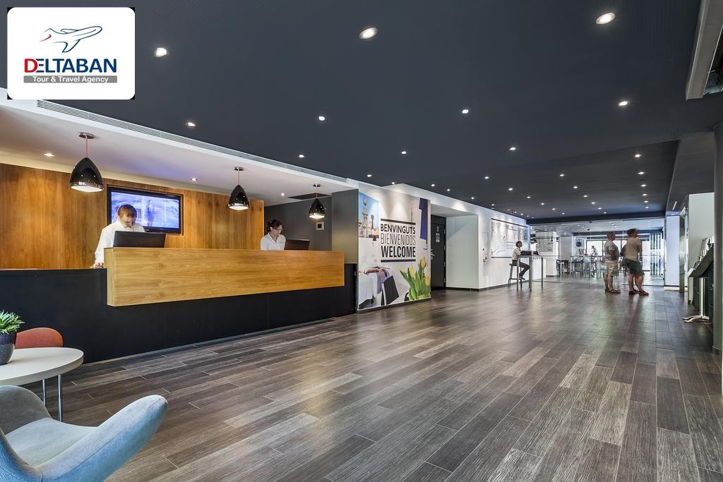 چگونه از فرودگاه به هتل Andante Hotel بارسلون برسید