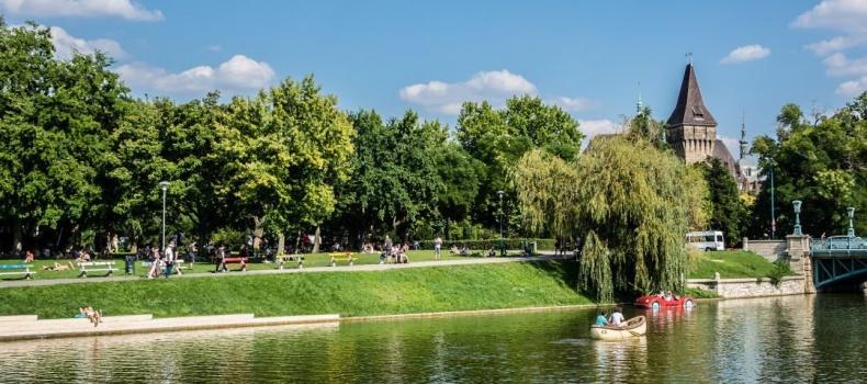 پارک وودلند سیتی در بوداپست