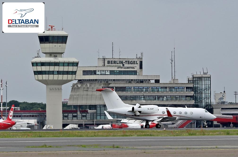 مسیرهای پروازی تهران به برلین - غیر مستقیم