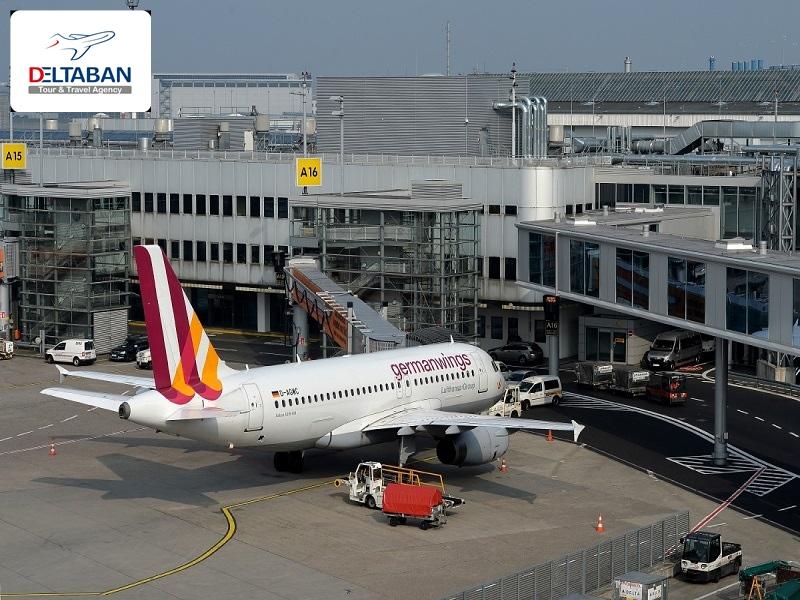 پرواز به دوسلدورف
