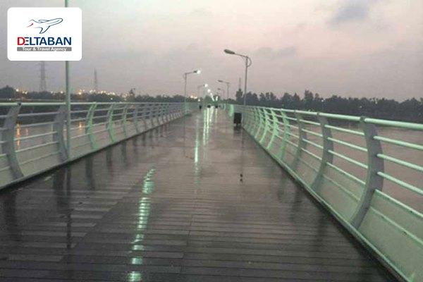 پل طبیعت کیانپارس اهواز