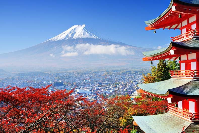 کشور ژاپن- تور لحظه آخری ارزان قیمت ژاپن