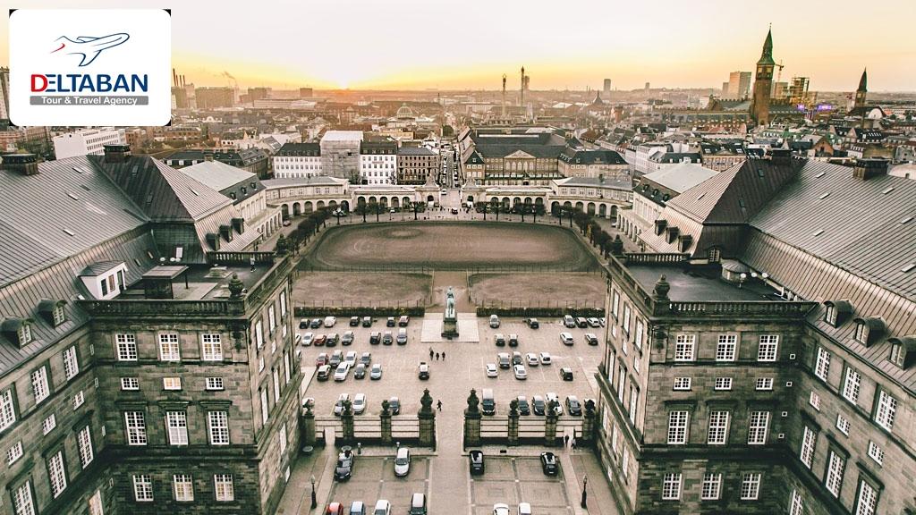 معرفی کاخ کریستین برگ کپنهاگ