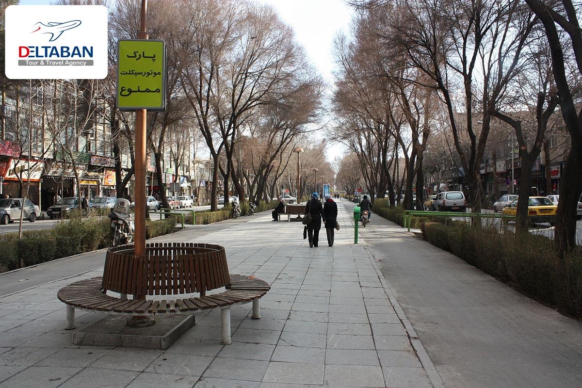 چهارباغ عباسی اصفهان