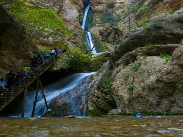 آبشار پیران کرمانشاه