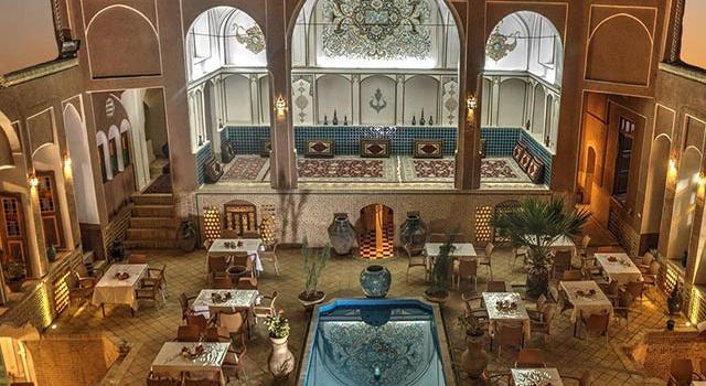 مجموعه هتل سنتی نگین کاشان