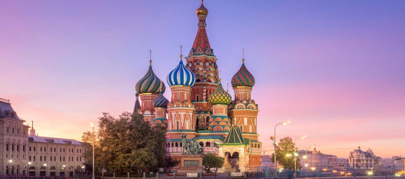 شهرهای اصلی روسیه