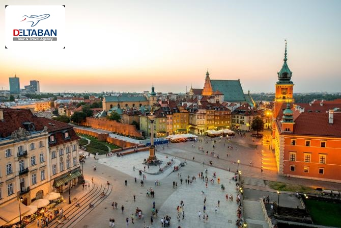 جاذبه های گردشگری ورشو لهستان