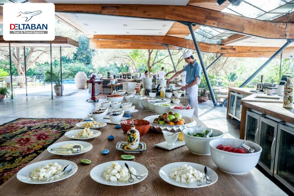 دکوراسیون رستوران Macakizi ترکیه