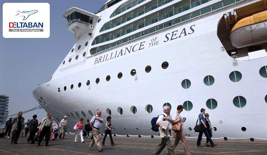 نمایی از کشتی در دبی