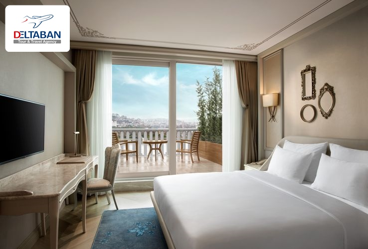 فضای اتاق هتل لازونی استانبول
