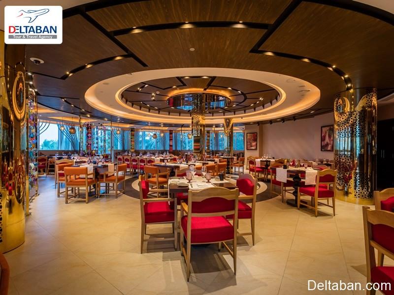 نایا از جمله بهترین رستوران های منطقه جمیرا دبی