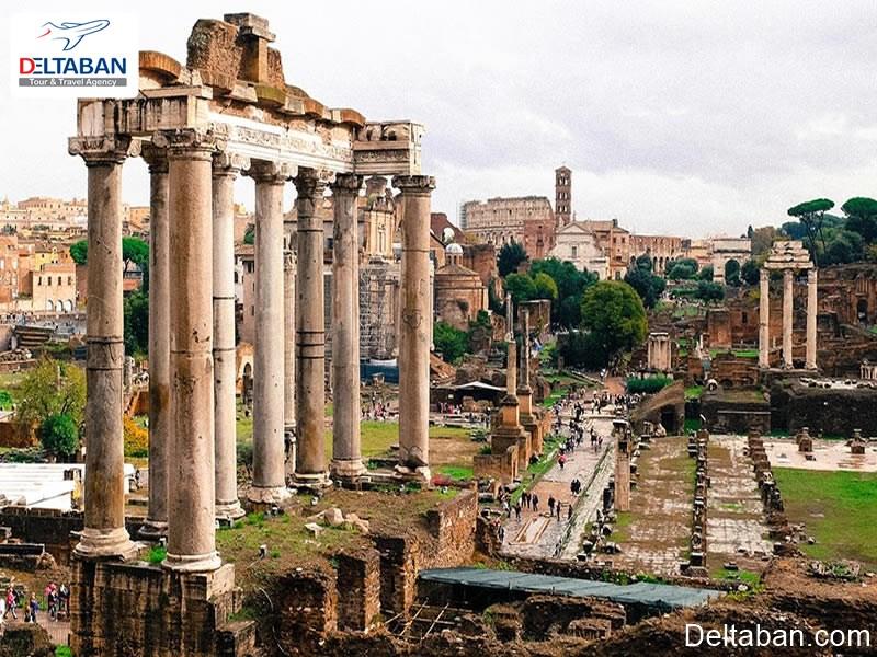 رومن فروم از جاهای دیدنی رم