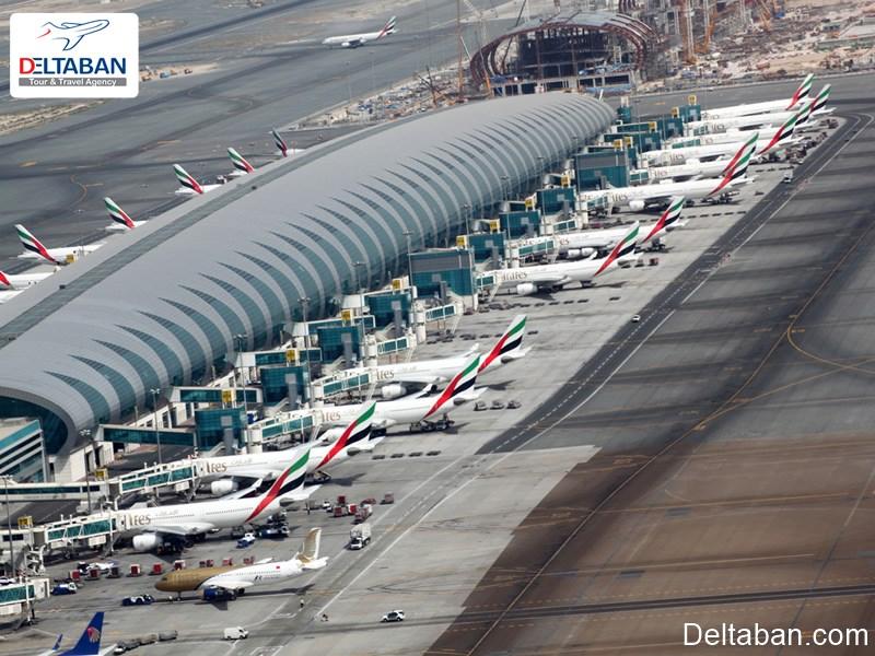 چه طور از فرودگاه دبی به مرکز شهر برویم؟