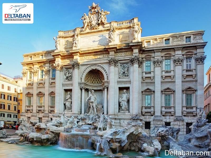 فواره تروی از جاهای دیدنی رم