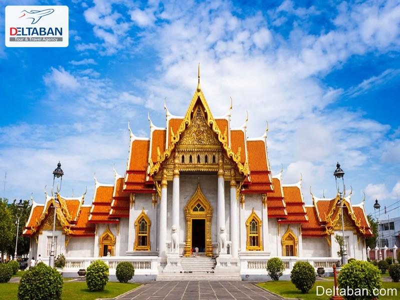 معبد بنجامابهوبیت از معابد بانکوک