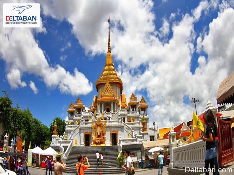 معبد ترایمیت از معابد بانکوک