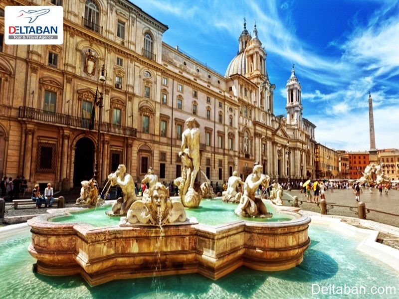 پیاتزا ناوونا از جاهای دیدنی رم