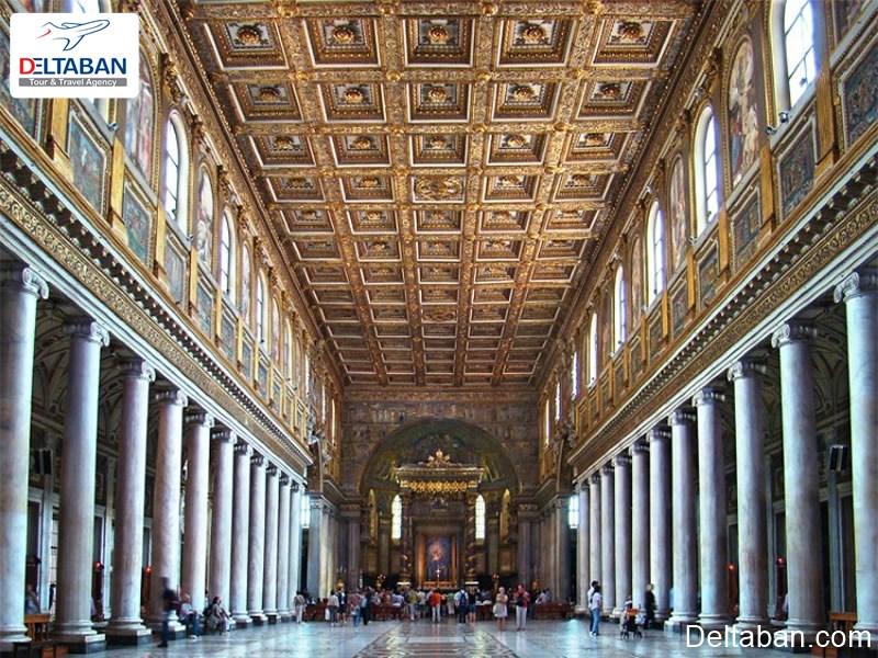 کلیسا سانتا ماریا ماگورو از جاهای دیدنی رم