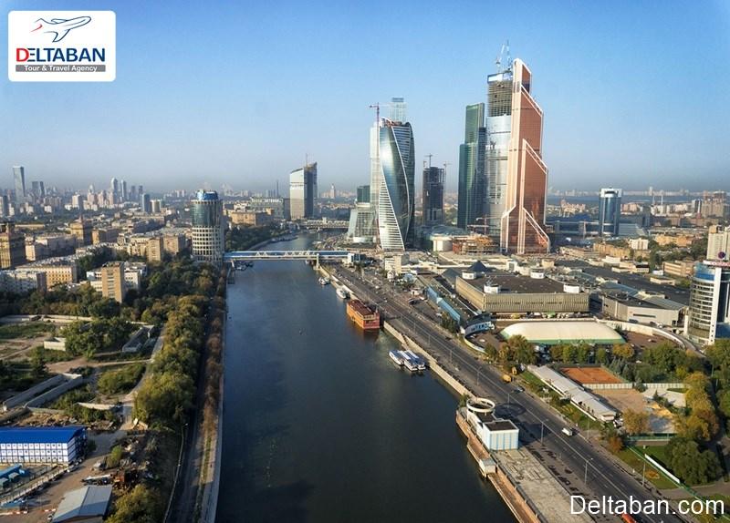 هزینه های اقامت از هزینه های سفر به مسکو