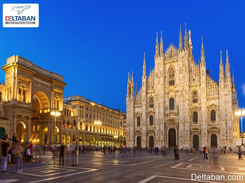 بررسی دقیق هزینه های سفر به میلان