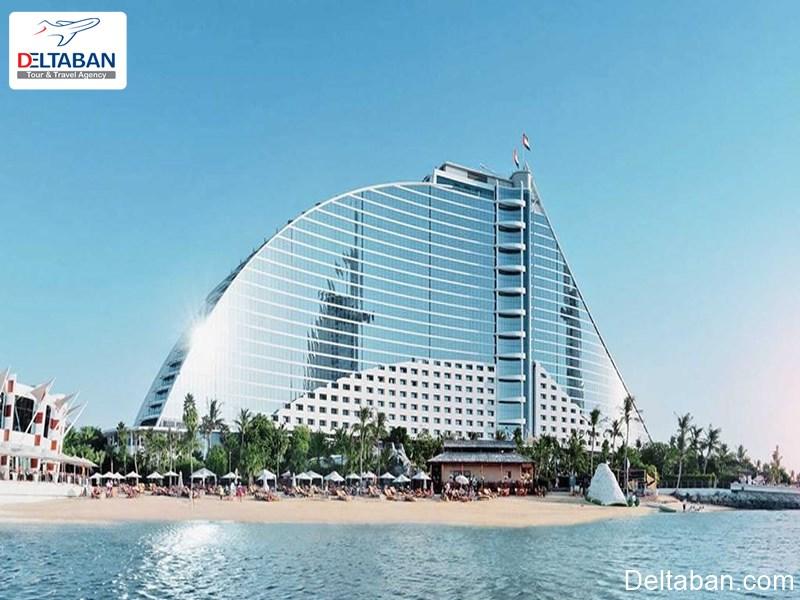 هتل برج العرب از بهترین هتل های جمیرا