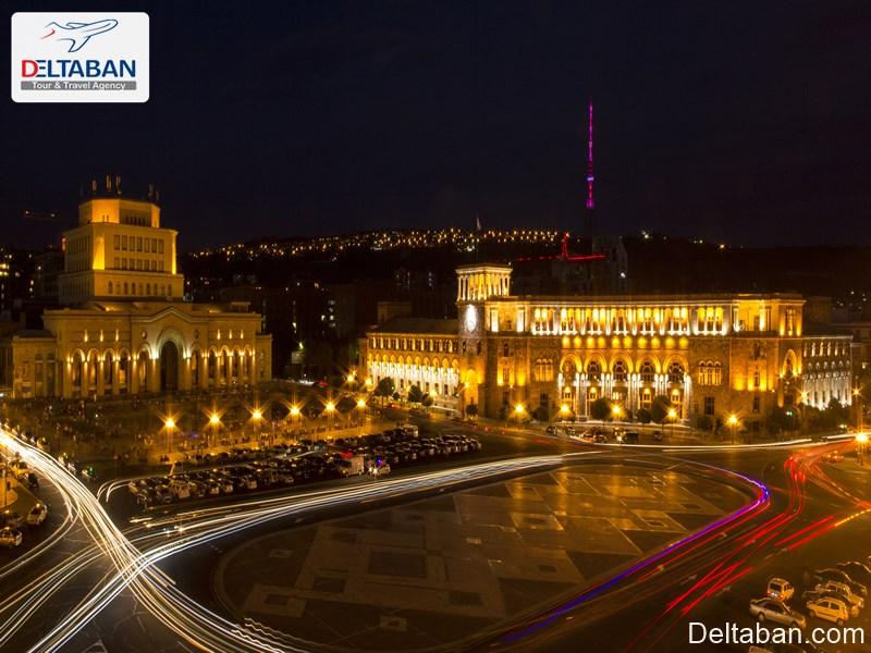 میدان جمهوری از اماکن تاریخی ایروان
