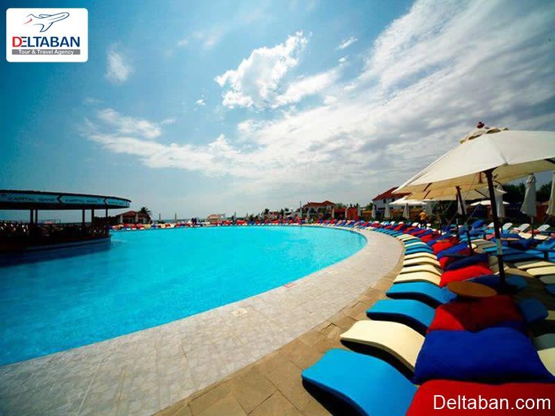 ساحل آمبوران از جمله تفریحات ساحلی باکو