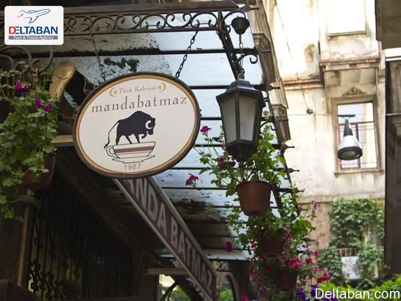 ماندا باتماز از جمله بهترین کافه های استانبول