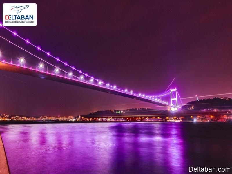پل سلطان مهمت از جمله پل های استانبول