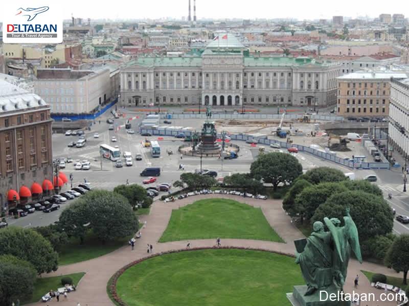 اقامت از جمله هزینه های سفر به سنت پترزبورگ