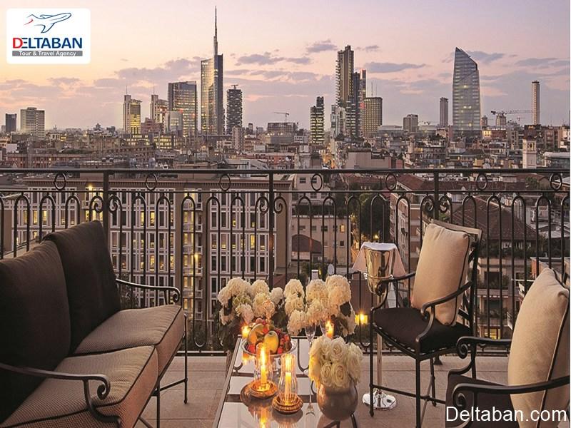 هتل ها از جمله هزینه های سفر به میلان