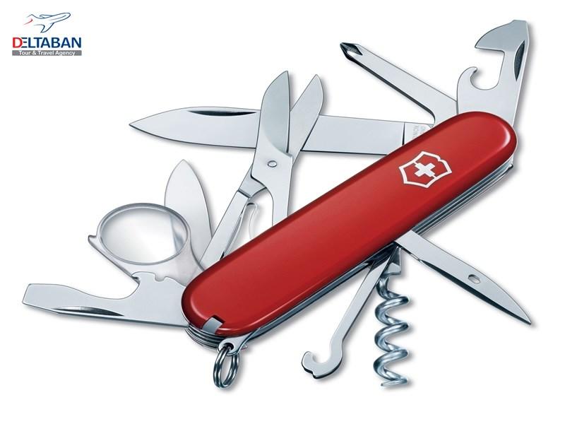 چاقو از جمله سوغاتی های سوئیس