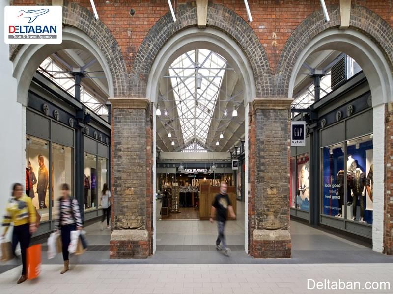 دیزاینر اوت لت از جمله مراکز خرید لوسرن