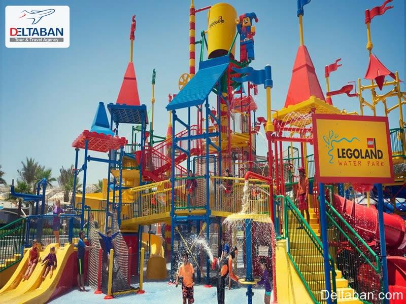 لگولند از جمله پارک های آبی دبی